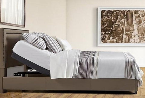 Adjustable Bed w/ Memory Foam Mattress Combo - Katy Furniture
