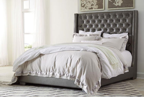 Coralayne Tufted King Bed - Katy Furniture