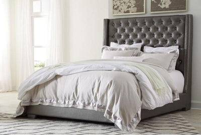 Coralayne Bed and Mattress Combo - Katy Furniture