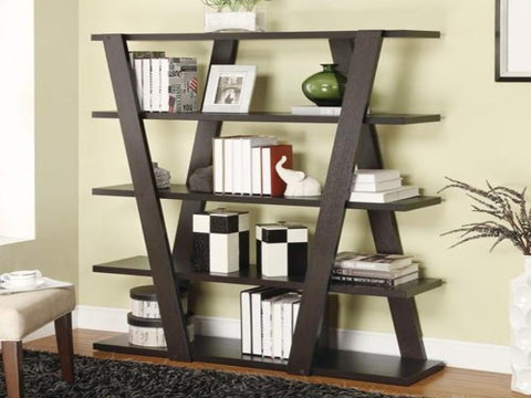 Inverted Modern Bookcase