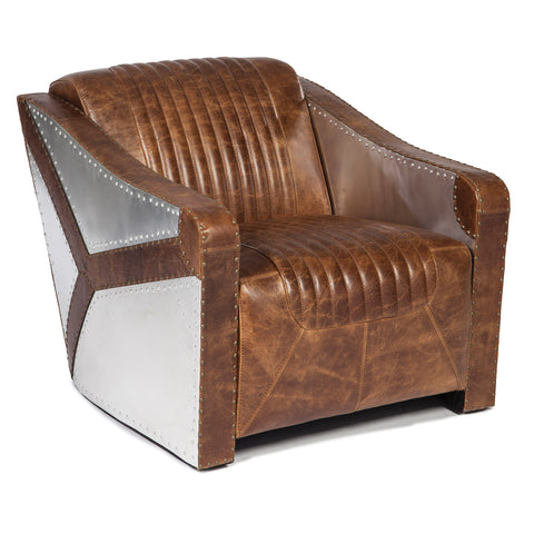 Journey Bomber Accent Chair