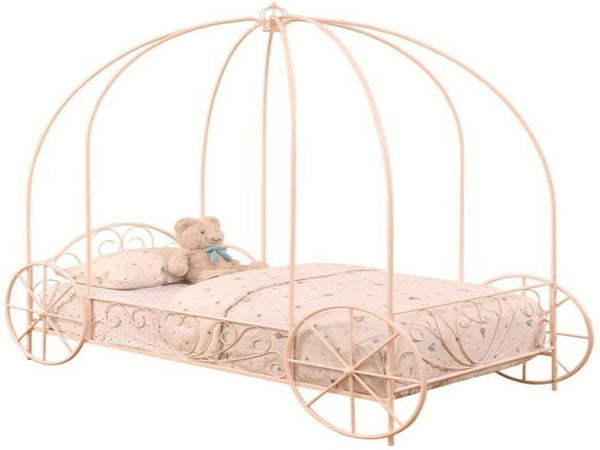 Cinderella Twin Carriage Canopy Bed - Katy Furniture