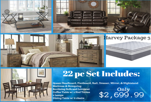 Harvey Whole House Package 3 - Katy Furniture