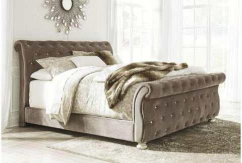 Cassimore King Upholstered Bed - Katy Furniture