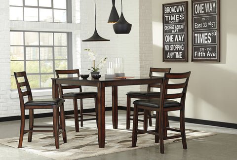 Coviar Dining w/4 Chairs