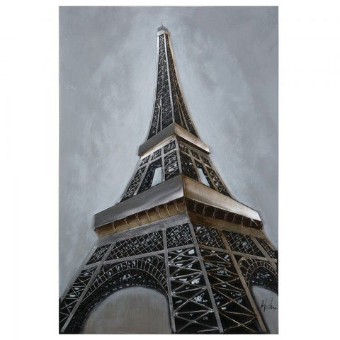 Eiffel Revealed Wall Art
