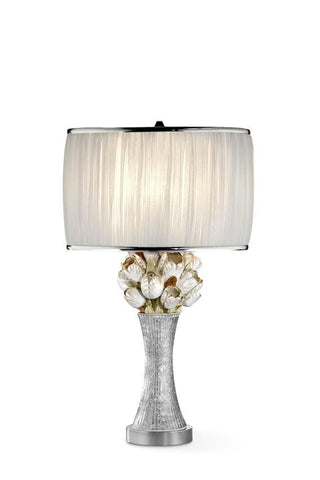 Floral Table Lamp