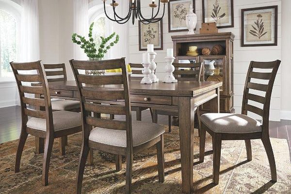 Flynnter Table W 4 Chairs Katy Furniture