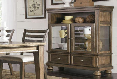 Flynnter China Cabinet - Katy Furniture