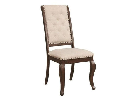 Glen Cove Java Side Chair- Set of 2
