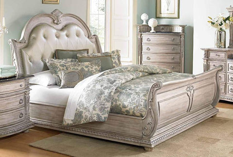 Stephy King Bed - Katy Furniture