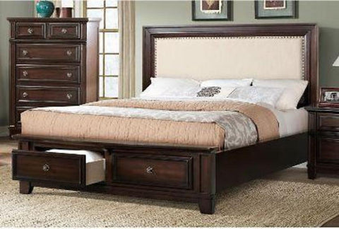 Harwich King Storage Bed - Katy Furniture