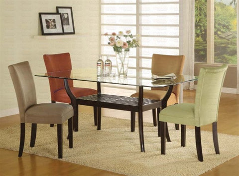 Harmony  Rectangular Table w/ 4 Chairs