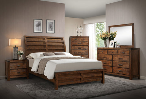 Curtis King Bedroom Set - Katy Furniture