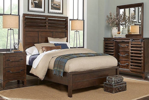 Tyler Queen Bedroom Set W/ 2 Nightstands - Katy Furniture