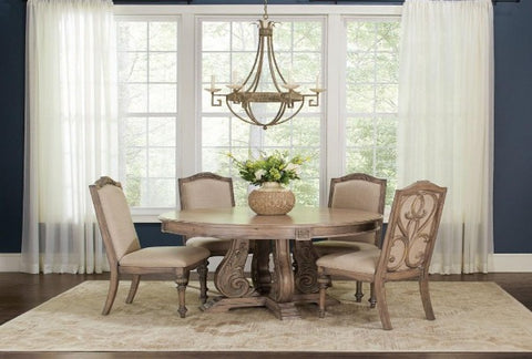 Ilana Round Table w/ 4 Chairs