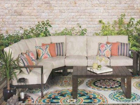 Island Breeze 4 Piece Sectional - Katy Furniture