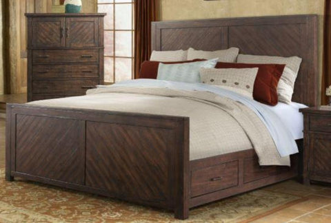 Jax King Storage Bed - Katy Furniture
