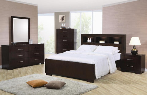 Jessica Bookcase Bedroom Set