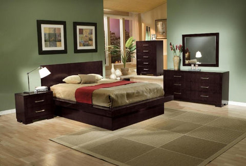 Jessica Queen Bedroom Set - Katy Furniture