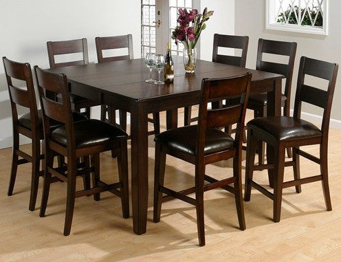 Maldives Counter Height Table W 4 Chairs Katy Furniture
