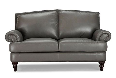 Juliette Leather Loveseat