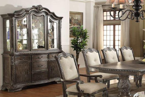 Kiera Grey China Cabinet - Katy Furniture