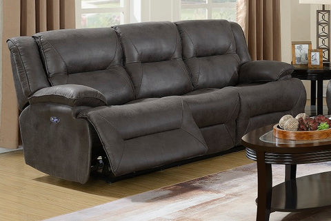 Kingston Power Sofa & Loveseat w/ Adjustable Headrest - Katy Furniture