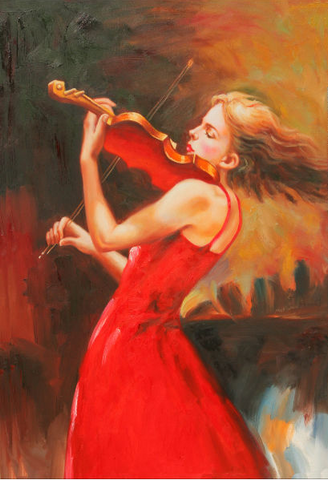 Lady Violin Player