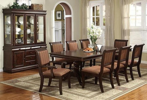 Ordinaire Formal Dining Rooms. Merlot Table W/ 6 Chairs