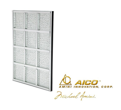 Montreal Rectangular Window Crystal Wall Décor - Katy Furniture