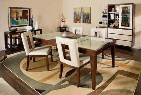 Enzo Table W/ 4 Chairs - Katy Furniture