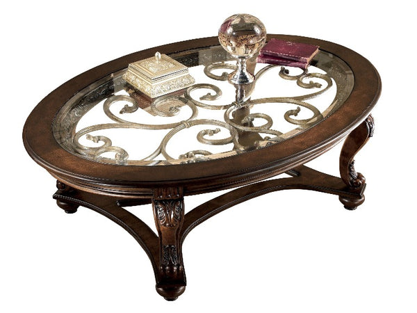 Wood Oval Coffee Table Made In China: Norcastle Oval Coffee Table
