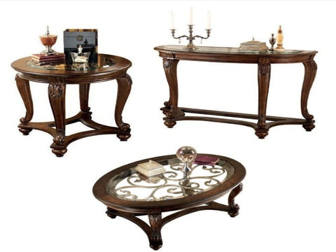 Norcastle Oval Coffee Table  sc 1 st  Katy Furniture & Coffee Table Sets u2013 Katy Furniture