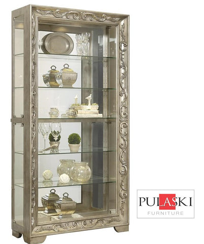 Izzy Curio Cabinet - Katy Furniture
