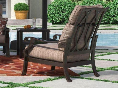 Russet Chair with Cushion - Katy Furniture