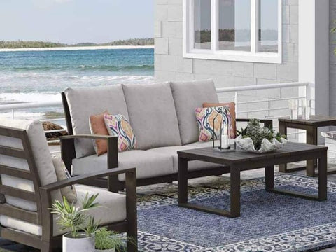 Island Breeze Sofa with Cushion - Katy Furniture