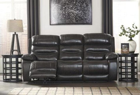 Paige Power Reclining Sofa - Katy Furniture
