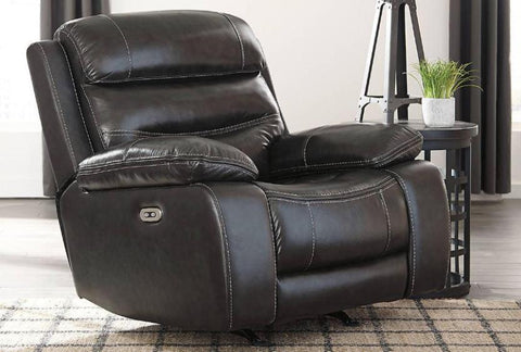 Paige Power Recliner - Katy Furniture