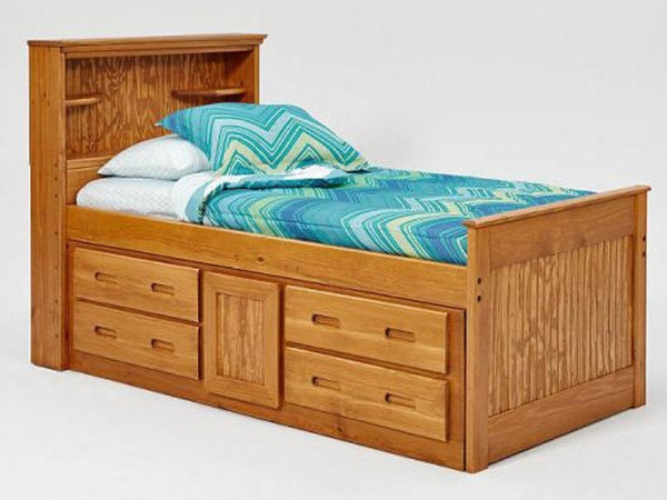 Palomino Twin Captain Bed Katy Furniture