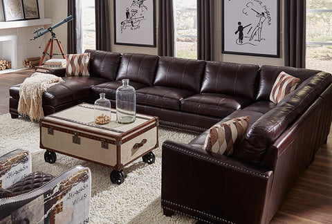Autum Leather Sectional