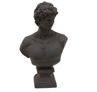 Resin Male Bust - Katy Furniture