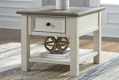 Bolanburg Rectangular End Table - Katy Furniture