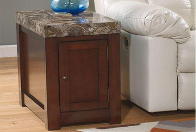 Kraleene Chair Side End Table - Katy Furniture