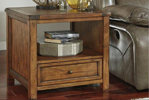 Tamonie Square End Table - Katy Furniture