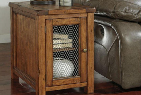 Tamonie Chair Side End Table - Katy Furniture