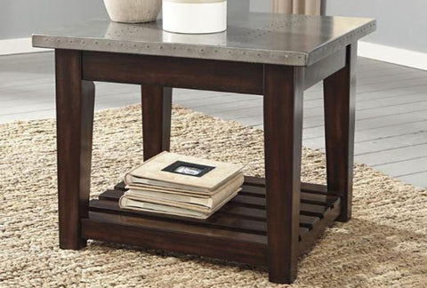 Bynderman End Table - Katy Furniture
