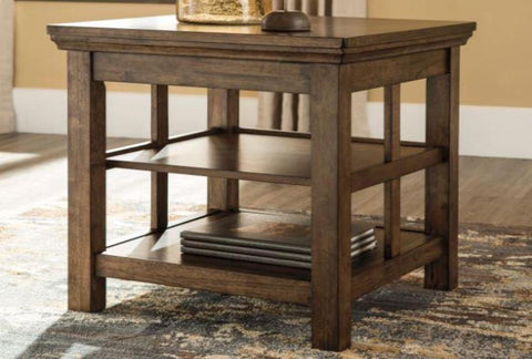 Flynnter Square End Table - Katy Furniture