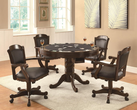 Turks Game Table w/ 4 Chairs