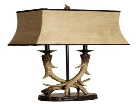 Antler Table Lamp - Katy Furniture